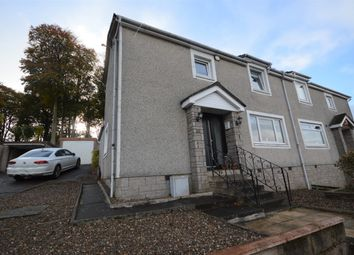 Thumbnail 3 bed semi-detached house for sale in Woodland Crescent, Eaglesham, Glasgow