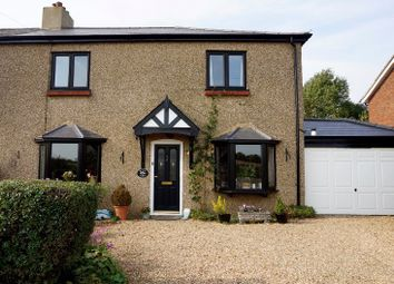 Thumbnail 4 bed semi-detached house for sale in New Barns Lane, Anstey, Buntingford