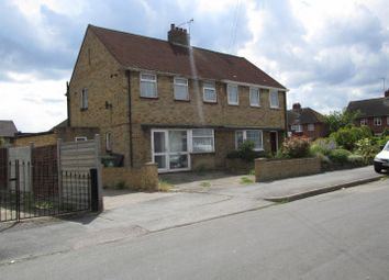 Thumbnail 3 bed semi-detached house to rent in Dumbarton Avenue, Waltham Cross