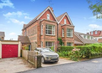 Thumbnail 4 bedroom semi-detached house for sale in Kings Barn Villas, Steyning, West Sussex
