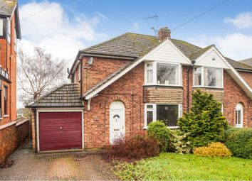 Thumbnail 3 bed semi-detached house for sale in Cross O'cliff Hill, Lincoln