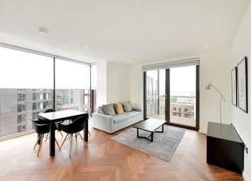 Thumbnail 1 bed flat to rent in Embassy Gardens, Battersea