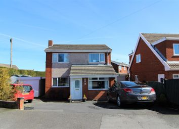Thumbnail 3 bed detached house for sale in Fferm Llidiart Werdd, Coedpoeth, Wrexham
