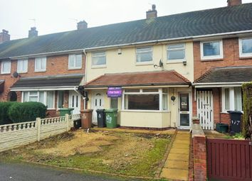 Thumbnail 3 bedroom terraced house for sale in Glastonbury Crescent, Walsall
