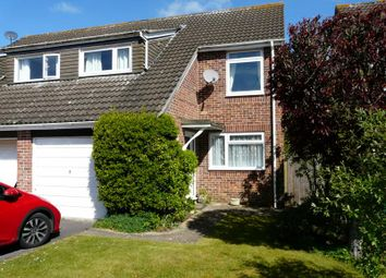 Thumbnail 3 bed semi-detached house for sale in De Montfort Grove, Hungerford