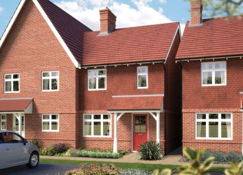 "Thumbnail 3 bedroom property for sale in ""The Cranham"" at Blunsdon, Swindon"