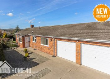 Thumbnail 3 bedroom detached bungalow for sale in Trem Y Foel, Sychdyn, Mold