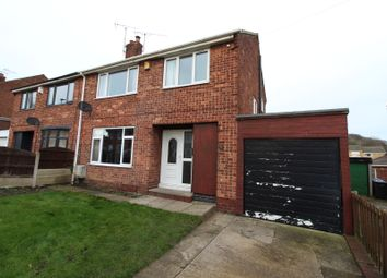 Thumbnail 3 bed semi-detached house for sale in Meadow View, Worsbrough, Barnsley
