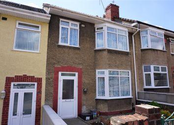 Thumbnail 3 bed terraced house for sale in Jean Road, Brislington, Bristol