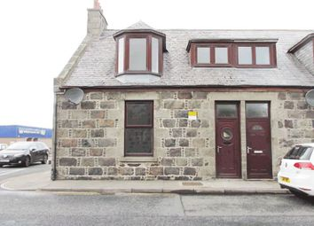Thumbnail 2 bed end terrace house for sale in 19, Barrasgate Road, Fraserburgh AB439Dq