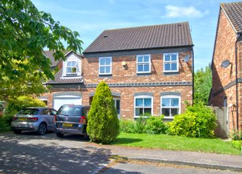 Thumbnail 4 bed detached house for sale in The Elms, Haslingfield, Cambridge