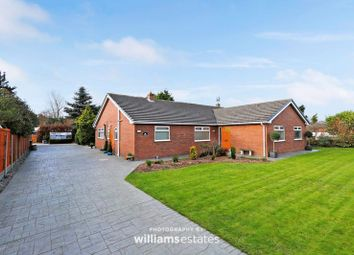 Thumbnail 4 bed detached bungalow for sale in Marian, Trelawnyd, Rhyl