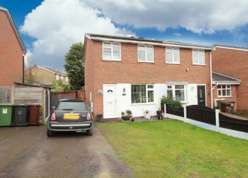 Thumbnail 2 bed semi-detached house for sale in Gurnard Close, Wolverhampton, Wolverhampton, West Midlands