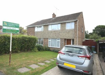 Thumbnail 3 bed semi-detached house for sale in Heath Way, Horsham