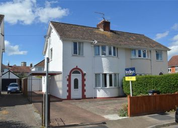 Thumbnail 3 bed semi-detached house to rent in Westleigh Road, Taunton, Somerset