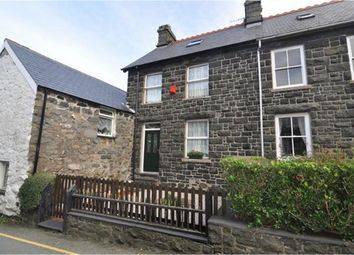Thumbnail 3 bed terraced house for sale in Main Road, Llwyngwril