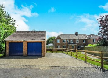 Thumbnail 4 bed semi-detached house for sale in Nolands Road, Yatesbury, Calne