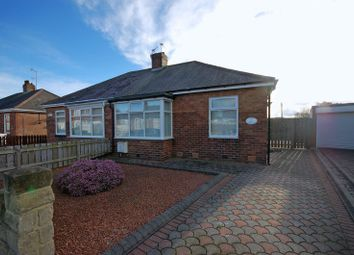 Thumbnail 2 bed semi-detached bungalow for sale in Firtree Crescent, Forest Hall, Newcastle Upon Tyne