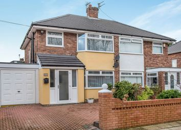 Thumbnail 3 bed semi-detached house for sale in Station Road, Woolton, Liverpool