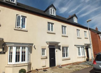 Thumbnail 4 bed town house to rent in Chapman Way, Eynesbury, St. Neots