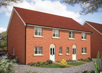 "Thumbnail 3 bed semi-detached house for sale in ""The Chertsey"" at Foxhall Road, Ipswich, Suffolk, Ipswich"