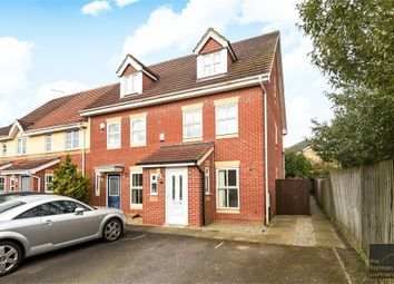Thumbnail 3 bed end terrace house to rent in Hurworth Avenue, Slough, Berkshire
