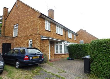 Thumbnail 3 bed semi-detached house for sale in Garsmouth Way, Watford