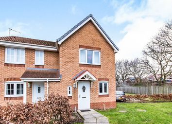 Thumbnail 2 bed semi-detached house for sale in Tiber Road, North Hykeham, Lincoln