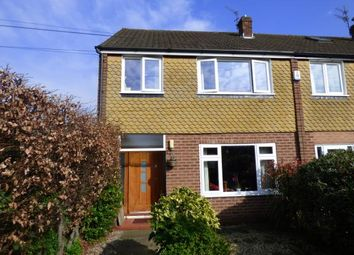 Thumbnail 3 bed end terrace house for sale in Victoria Road, Sale, Trafford, Greater Manchester