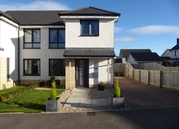 Thumbnail 3 bed semi-detached house for sale in Duffus Crescent, Elgin