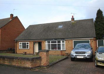 Thumbnail 4 bed detached bungalow for sale in Castell Drive, Groby, Leicester