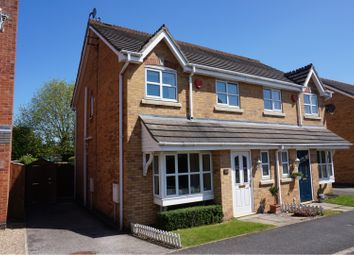 Thumbnail 3 bed semi-detached house for sale in Juniper Way, Sleaford