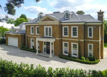 Thumbnail 7 bed detached house to rent in Farmleigh Grove, Burwood Park, Walton-On-Thames, Surrey