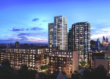 Thumbnail 2 bed flat for sale in The Bouchon, The Silk District, London