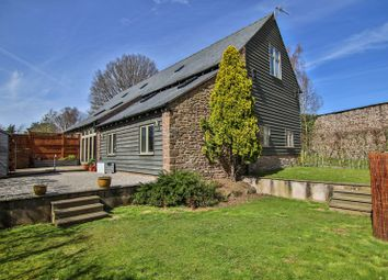 Thumbnail 3 bed barn conversion for sale in Much Birch, Hereford