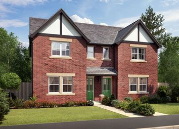 "Thumbnail 3 bed semi-detached house for sale in ""Hastings"" at Houghton Road, Houghton, Carlisle"