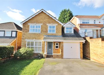 Thumbnail 5 bed detached house for sale in Furzedown Close, Egham, Surrey