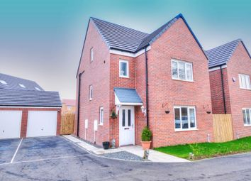 Thumbnail 4 bed detached house for sale in Warkworth Way, Amble, Morpeth