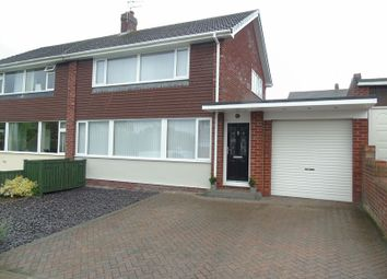 Thumbnail 3 bed semi-detached house for sale in South Close, Ryton