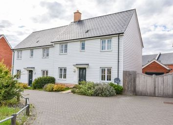 Thumbnail 3 bed semi-detached house for sale in Builder Gardens, Colchester, Essex