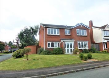 Thumbnail 4 bedroom detached house for sale in Birchwood Road, Lichfield
