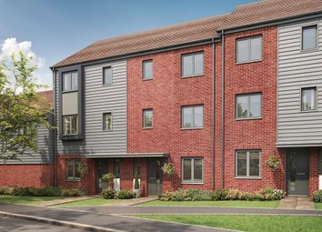 "Thumbnail 4 bedroom terraced house for sale in ""The Wolvesey"" at Eclipse, Sittingbourne Road, Maidstone"