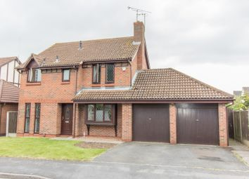 Thumbnail 4 bed detached house for sale in Robinson Way, Burbage, Hinckley