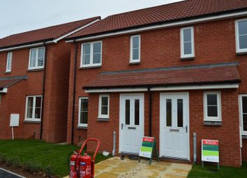 Thumbnail 2 bed semi-detached house to rent in Cavallo Walk, North Petherton, Bridgwater, Somerset