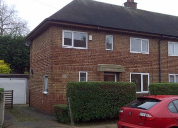 Thumbnail 2 bed semi-detached house to rent in Buchanan Street, Derby