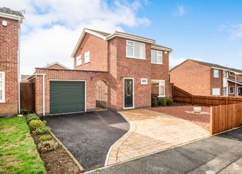 Thumbnail 3 bed detached house for sale in Tamar Road, Melton Mowbray
