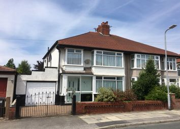 Thumbnail 3 bed semi-detached house for sale in Thornfield Road, Crosby, Liverpool