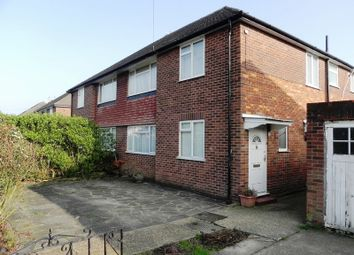 Thumbnail 2 bed flat to rent in West Mead, South Ruislip