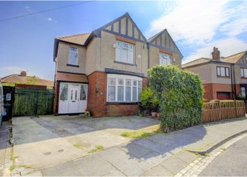 Thumbnail 4 bed semi-detached house for sale in Granville Avenue, Hartlepool