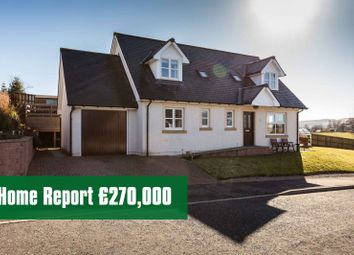Thumbnail 3 bedroom detached house for sale in The Glebe, Tannadice, Forfar